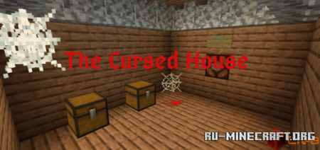Скачать The Cursed House для Minecraft PE