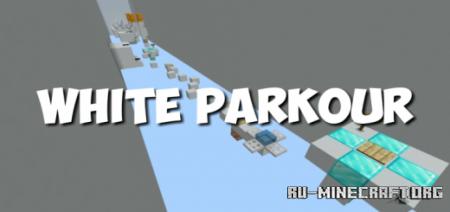 Скачать White Parkour для Minecraft PE