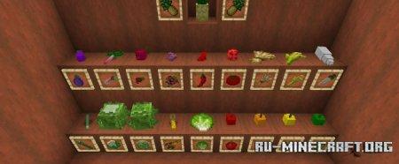 Скачать More Crops для Minecraft PE 1.15