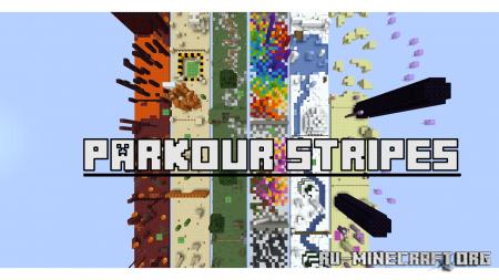 Скачать Parkour Stripes для Minecraft