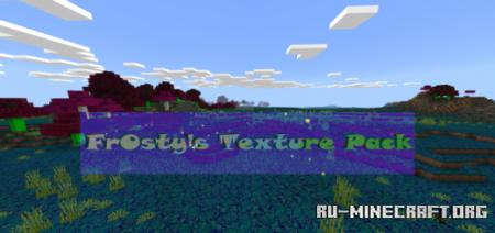 Скачать Fr0sty Ultimate [16x16] для Minecraft PE 1.15