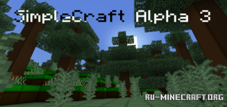 Скачать SimpleCraft Alpha 4 – UI Update для Minecraft PE 1.12