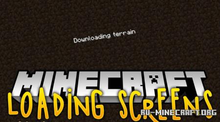 Скачать Loading Screens для Minecraft 1.12.2