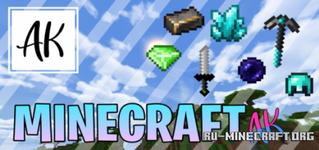 Скачать AK Texture [16x16] для Minecraft 1.14