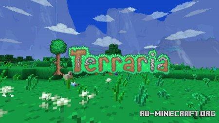 Скачать Terraria [32x] для Minecraft 1.15