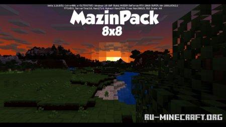 Скачать Mazin [8x] для Minecraft 1.16