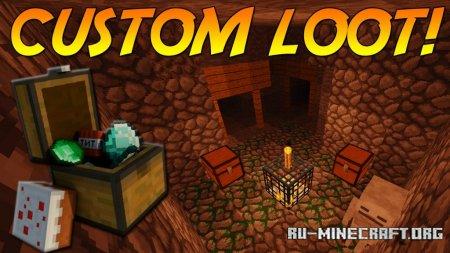 Скачать Customized Dungeon Loot для Minecraft 1.14.4