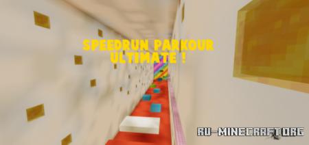 Скачать Speedrun Parkour ULTIMATE для Minecraft PE