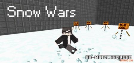 Скачать Snow Wars (Minigame) для Minecraft PE