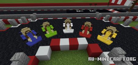 Скачать Vanilla Go Kart для Minecraft PE 1.16