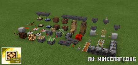 Скачать Clear Wire для Minecraft PE 1.16