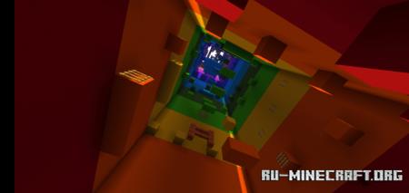 Скачать Rainbow Tower (Parkour) для Minecraft PE