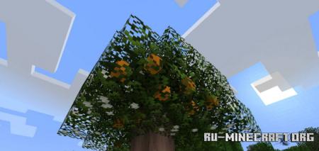 Скачать Fruit Trees для Minecraft 1.15.2