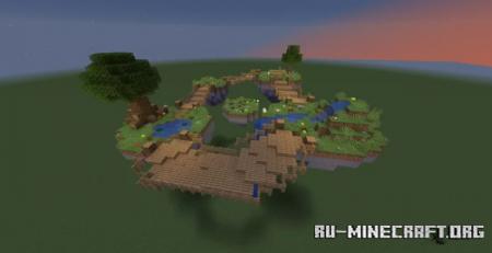 Скачать Floating Paradise для Minecraft