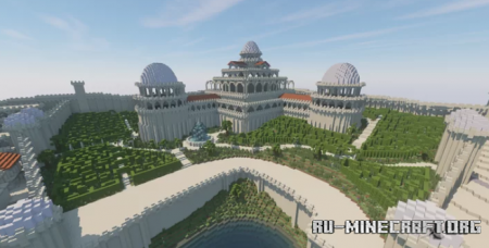 Скачать Qarth - The Greatest City для Minecraft