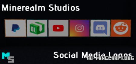 Скачать Minerealm Studio Painting Logos для Minecraft PE 1.15