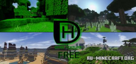 Скачать DHBE Realistic Style [128x128] для Minecraft PE 1.15