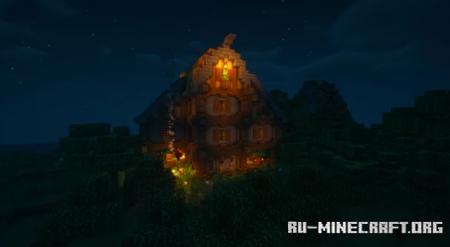 Скачать Big Rustic House для Minecraft