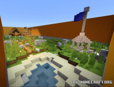 Скачать Ash's KIT-PVP для Minecraft PE