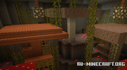 Скачать Caves And Dungeons для Minecraft 1.12.2