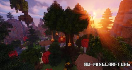 Скачать A Fallen World: A Find the Button Adventure для Minecraft