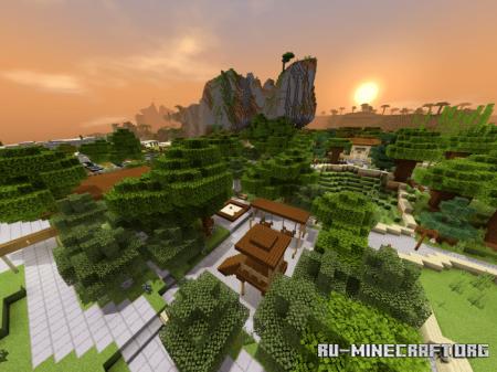 Скачать Paradise Zoo для Minecraft PE