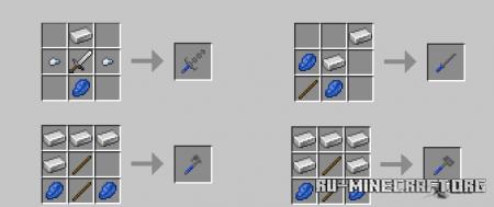 Скачать Battle Weapons Pack для Minecraft 1.15.2