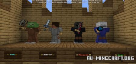 Скачать Brawl of Heroes – CTF для Minecraft PE