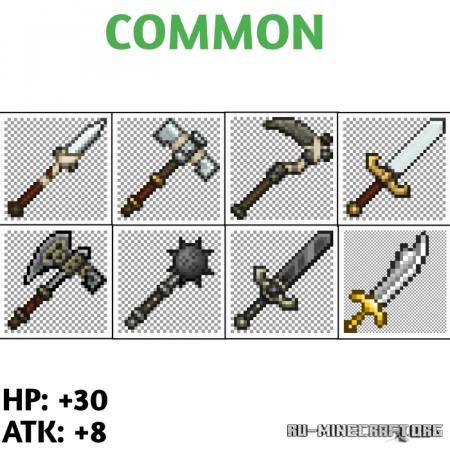 Скачать MMORPG Swords для Minecraft PE 1.16