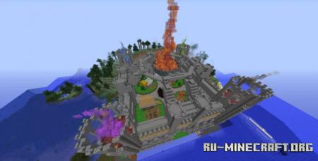 Скачать Castle Spawn by JollyWinter для Minecraft