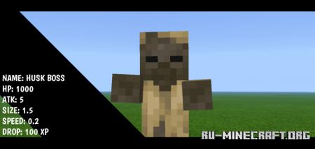 Скачать Normal Boss для Minecraft PE 1.16