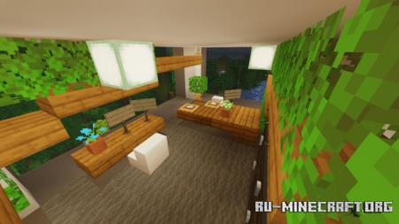 Скачать Jungle Villa для Minecraft PE