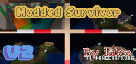Скачать Modded Survivor V2 для Minecraft PE