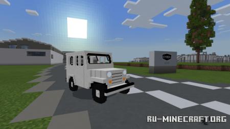 Скачать First Car Brand of Korea - Sibal для Minecraft PE 1.15