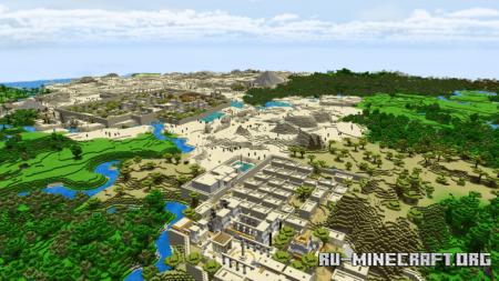 Скачать Ancient Egypt для Minecraft PE