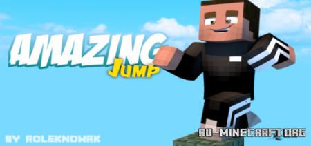 Скачать Amazing Jump – Parkour для Minecraft PE