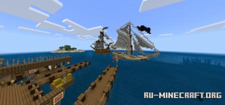 Скачать Mega Taiga Village Transformation для Minecraft PE