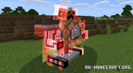 Скачать Commander Boss Machine для Minecraft PE 1.14