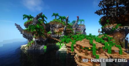 Скачать Tropical - Lobby для Minecraft