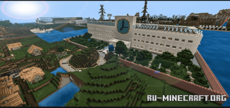 Скачать Middle School by RealDaJuan для Minecraft PE