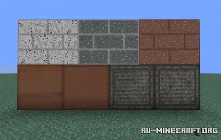 Скачать Exotic Blocks для Minecraft 1.16
