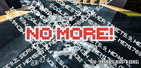 Скачать Better Beta – Text Remover для Minecraft PE 1.16