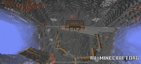 Скачать Caverns Capture The Flag для Minecraft PE