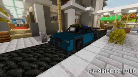 Скачать Karma Roadster для Minecraft PE 1.14