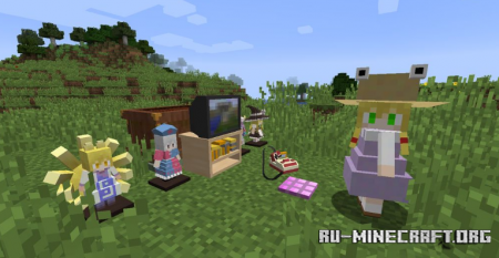 Скачать Touhou Little Maid для Minecraft 1.12.2