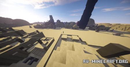 Скачать Tatooine - Mos Eisley для Minecraft