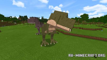 Скачать T-Rex для Minecraft PE 1.14