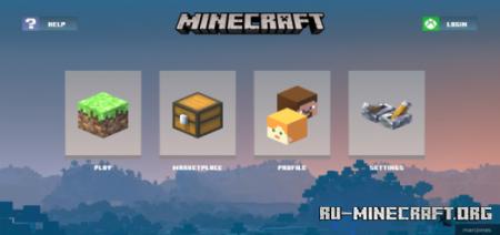 Скачать Core UI Concept Pack для Minecraft PE 1.16