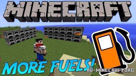 Скачать More Fuels для Minecraft 1.15.2