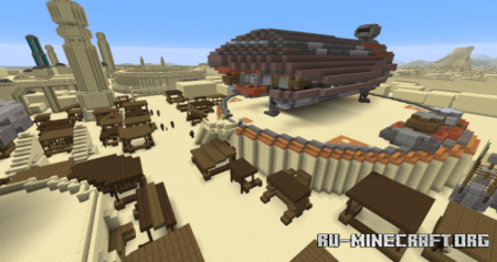 Скачать Star Wars - Tatooine для Minecraft